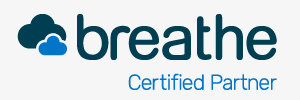 Breathe Certified Partner logo text
